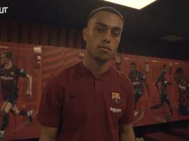 Dest will be number '2' for Barca. DUGOUT