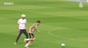 Zidane prepara o time para a partida desta segunda-feira contra o Granada. DUGOUT