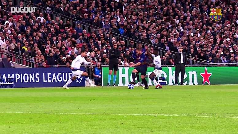 Il meglio di Arthur nel Barcellona. Dugout