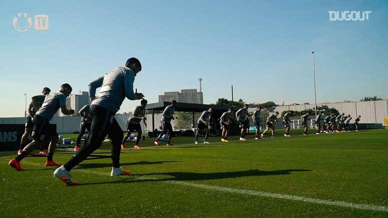 Corinthians segue com sua preparação após a quarentena. DUGOUT