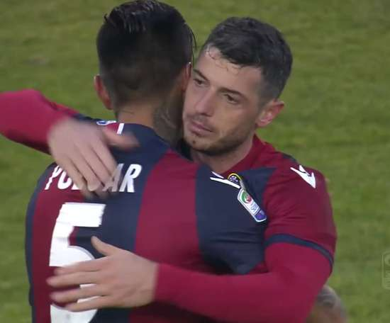 Džemaili scored twice as Bologna beat Torino 2-0. DUGOUT