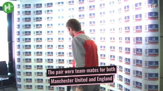 Phil Neville and David Beckham's Inter Miami reunion. DUGOUT