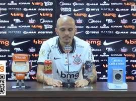 Fábio Santos elogia Sampaoli e diz que chega mais completo ao Corinthians. DUGOUT