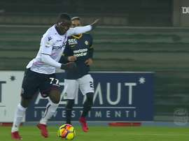 Donsah scored five goals while at Bologna. DUGOUT