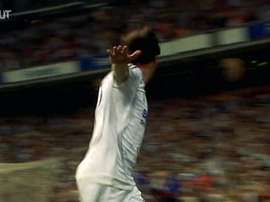 Le but magnifique de Van Nistelrooy contre Valence. DUGOUT