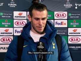 Bale scored. DUGOUT