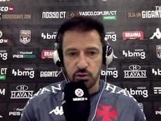 Ramon Menezes cita chances perdidas do Vasco em derrota na Copa do Brasil. DUGOUT