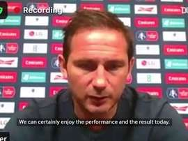 Lampard has 'huge respect' for under-fire Manchester United keeper De Gea. DUGOUT