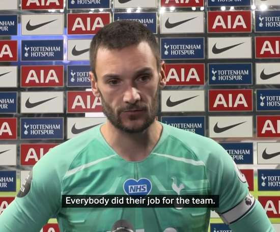 Lloris says they have to improve their away form. DUGOUT