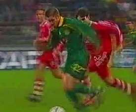 El Nantes jugó ante el Bayern a principios de siglo. DUGOUT