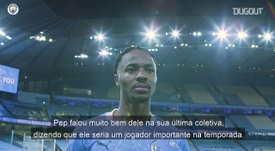 Sterling comemora vitória contra Arsenal e elogia Bernardo Silva. DUGOUT