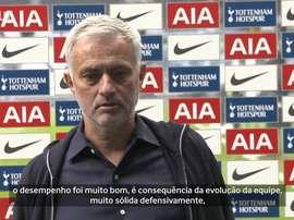 Mourinho analisa empate com o Newcastle. DUGOUT