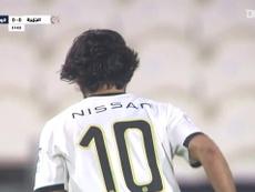 Al Jazira were too good for Al-Wahda in a 2-0 win. DUGOUT