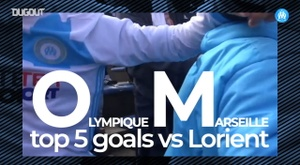OM's top five goals vs Lorient. DUGOUT