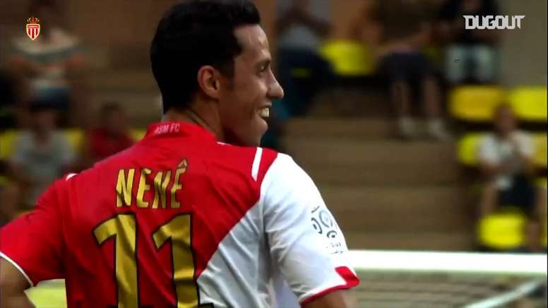 Nene was at Monaco for three years. DUGOUT