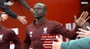 VIDÉO: L'incroyable trio offensif de Liverpool. Dugout