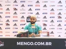 Gabigol rechaça polêmicas no Flamengo. DUGOUT