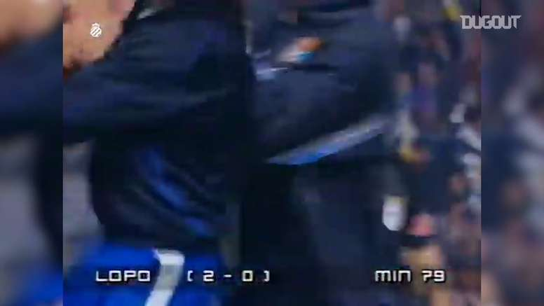 VIDEO: Alberto Lopo's best RCD Espanyol moments. DUGOUT