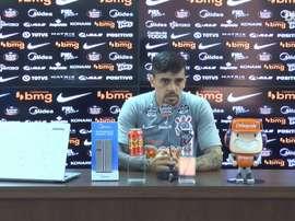 Fagner fala sobre importância da vitória contra Coritiba. DUGOUT