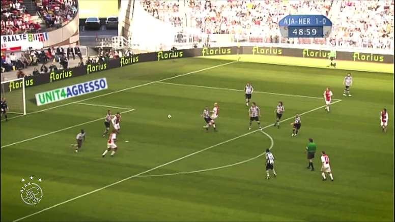 TOP 5 buts Ajax contre Heracles. dugout