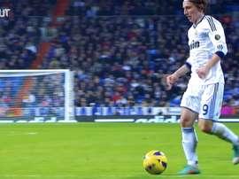 Modric, digno sucesor de Zidane como mariscal de campo en el Madrid. Dugout