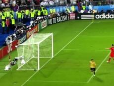 Dani Güiza marca para a Espanha contra a Rússia. DUGOUT