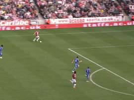 Walters opens scoring against Chelsea with fantastic solo goal. DUGOUT