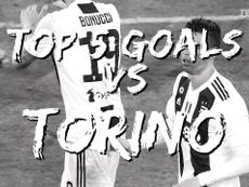 Juventus' top five goals at home to Torino. DUGOUT