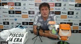 Cuca chegou ao Santos para sua terceira passagem pelo clube. DUGOUT
