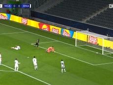 VÍDEO: Thuram puso contra las cuerdas al Madrid. Captura/Dugout