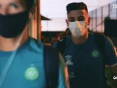 Chapecoense garantiu antecipadamente seu retorno à elite do futebol brasileiro. DUGOUT