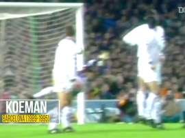 Ronald Koeman brilhando pelo Barcelona. DUGOUT