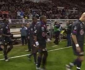 Résumé Auxerre 0-3 Lyon 2005. DUGOUT