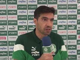 Abel Ferreira fala sobre a pressão do Flamengo em cima do Palmeiras. DUGOUT