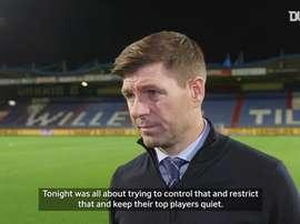Rangers beat Willem II. DUGOUT