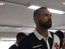 Castán manda mensagem emocionante a torcedores do Vasco. DUGOUT