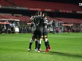 Corinthians won 2-0. DUGOUT