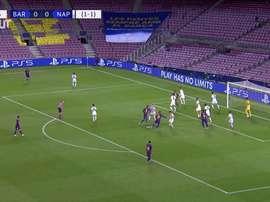 Relembre a vitória do Barça sobre o Napoli. DUGOUT