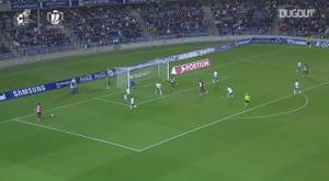 Iñaki Williams marcou gol de peito contra o Tenerife. DUGOUT