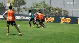 Cazares projeta estreia pelo Corinthians. DUGOUT