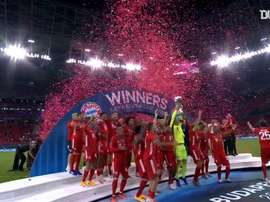 Bayern won the European Super Cup. DUGOUT