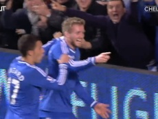 Fernando Torres was the hero for Chelsea v Man City in 2013. DUGOUT