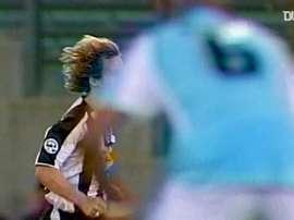 Golaço de Nedved pela Juve contra a Lazio. DUGOUT