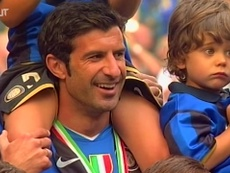 Luis Figo played his final game in 2009. DUGOUT