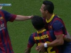 Le but splendide d'Alexis Sanchez contre l'Atlético Madrid. Dugout