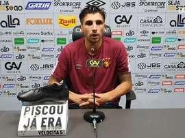 Lucas Mugni diz ter se encontrado no Sport. DUGOUT