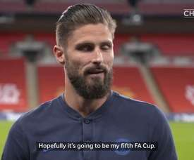 Olivier Giroud looks to continue his FA Cup love affair. DUGOUT