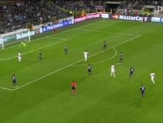 Le but somptueux d'Ibrahimovic contre Anderlecht. Dugout