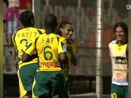 He scored a free-kick. DUGOUT