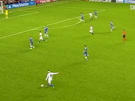 Salah marca para o Basel contra o Chelsea. DUGOUT